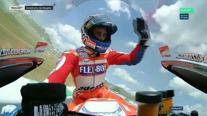 Andrea Dovizioso triunfa en Mugello