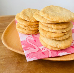 オーツクッキー(オートミールとオーツミルクでサクサク軽い)
