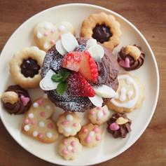 チョコカップケーキ&クッキー(プラントベース)