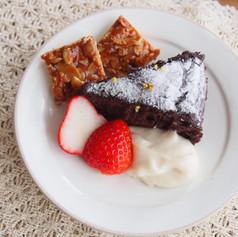 2020.1月アボカドチョコレートケーキとフロランタン