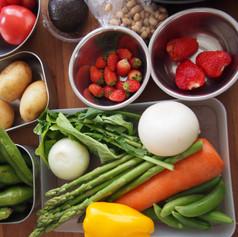 2019.4野菜たっぷりおもてなしごはんの会食材