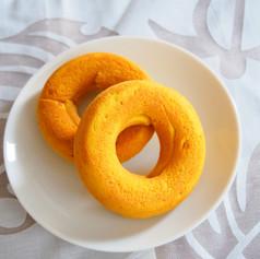 2020.8米粉とココナツかぼちゃ焼きドーナツ