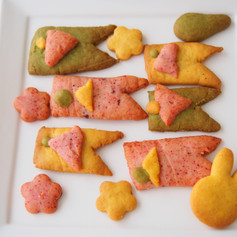 2021.4米粉やさいこいのぼりクッキー
