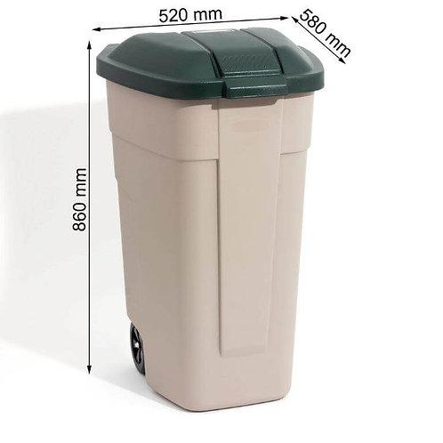 פח גינה 110 ליטר תוצרת כתר