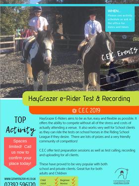 E-Rider Info Sheet
