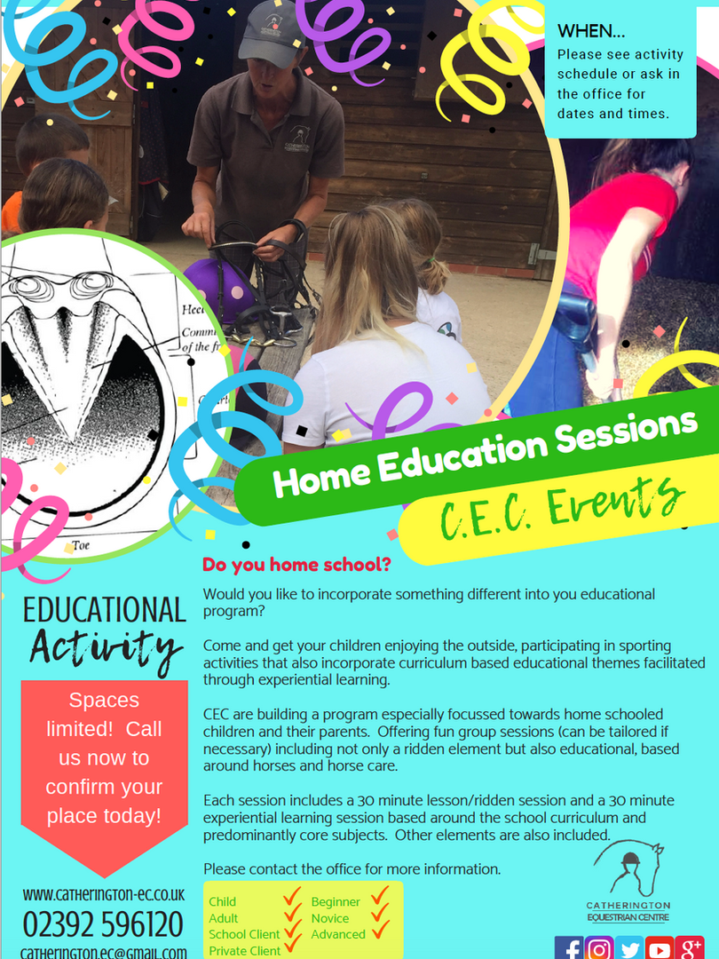 Home Educatoin Info Sheet
