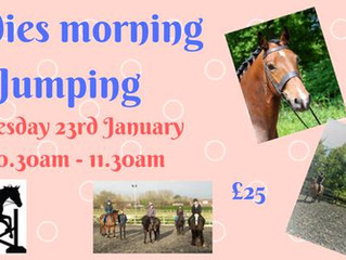 Ladies Morning Jumping!