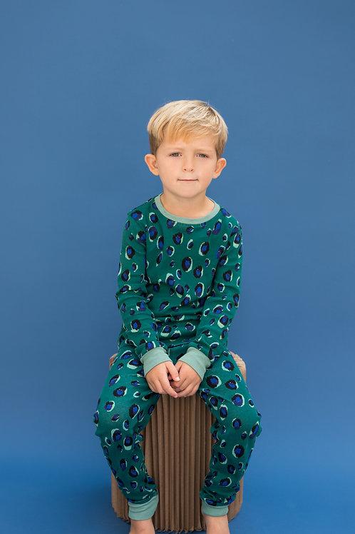 Wholesale Adults Green Animal  Pyjama Set