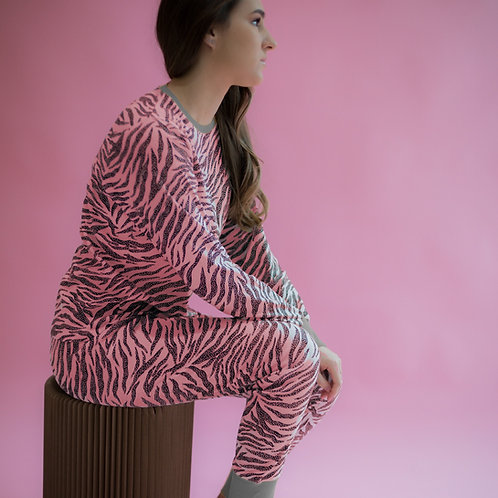 Adults Pink Skin  Pyjama Set