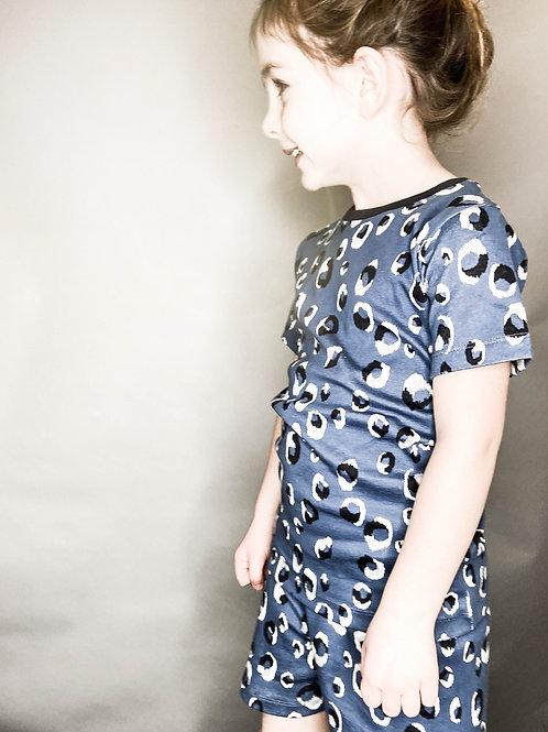 Blue Skin Children's Shortie Set
