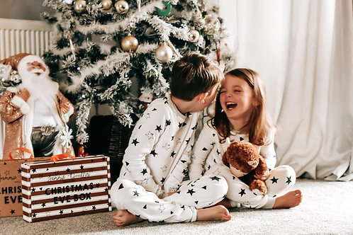 Wholesale Christmas Star PJ Set