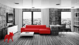 RINADOG-XL-LG60cm-Red