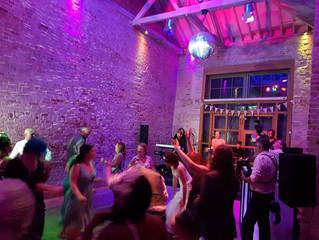 Fantastic wedding gig last night near Norwich