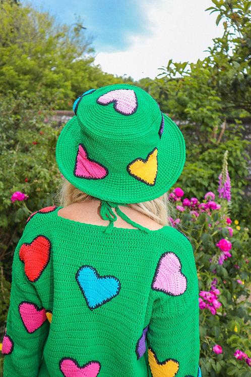 LOVEBUG HAT - GREEN