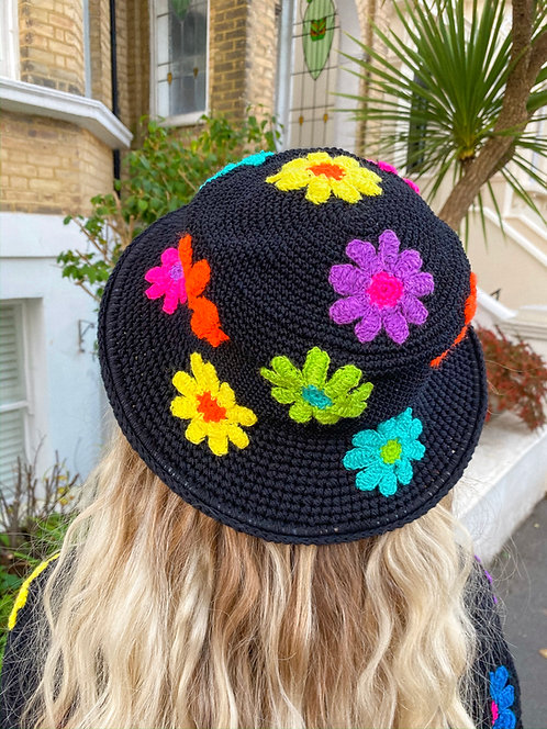 BLACK LADY GARDEN HAT