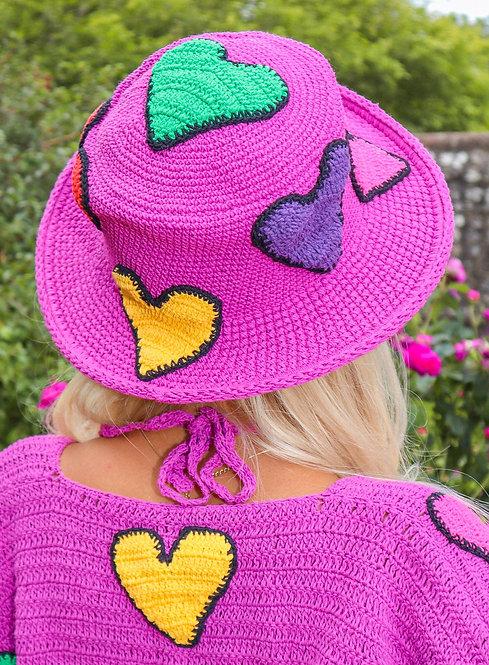PURPLE LOVEBUG HAT