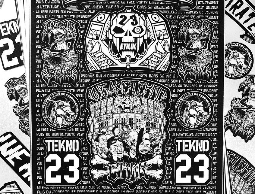 Stickers Etilik Crew