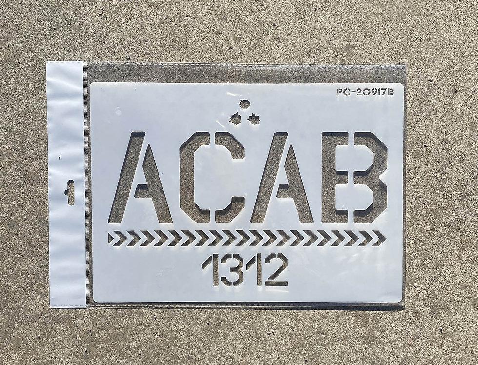 Pochoir ACAB