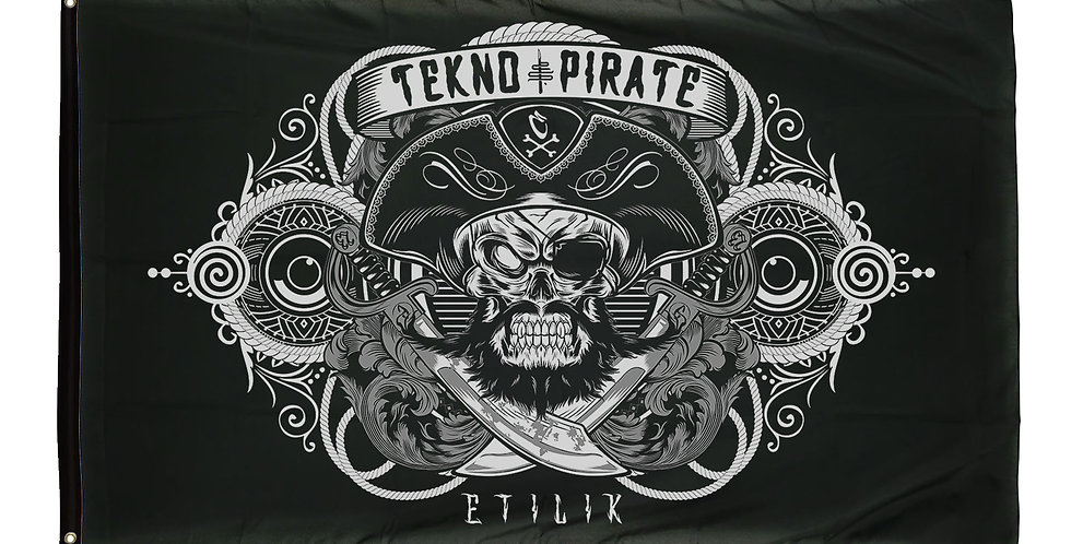 Drapeau Tekno Pirate