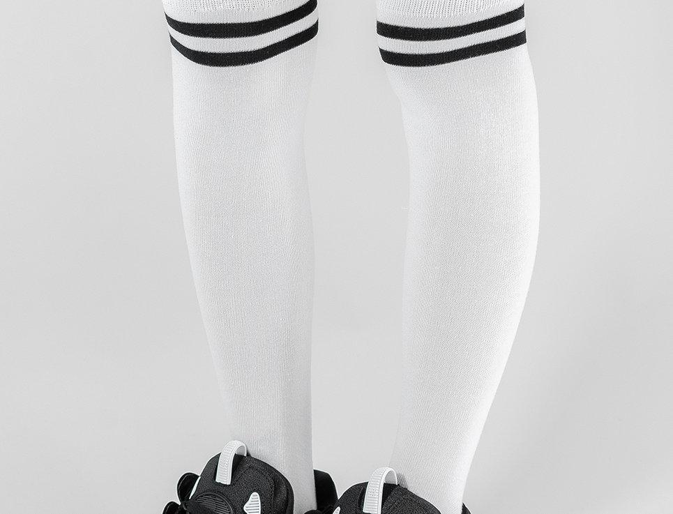 Ladies Stripe Socks Wh