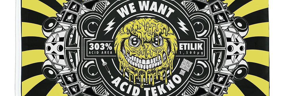 Drapeau WW Acid Tekno