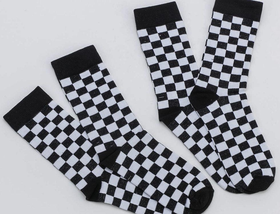 Checker Socks 2 pack