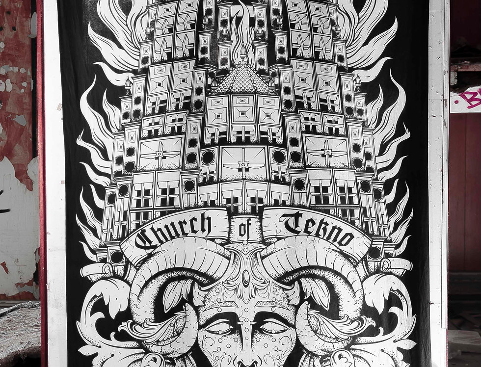 Tenture Church Of Tekno