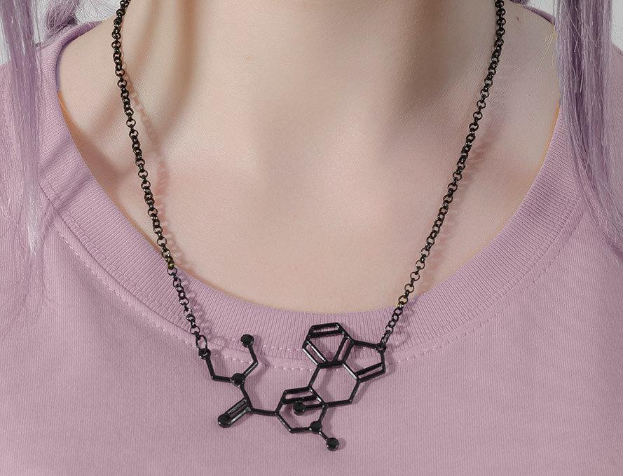 Collier Molécule L.S.D