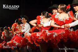 Huellas Folcloriada 2013