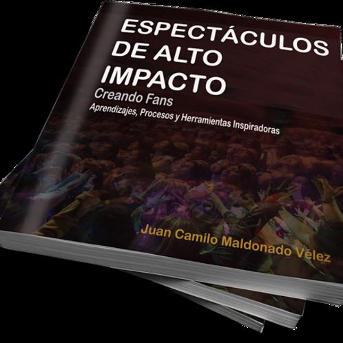 Libro Digital Espectáculos de Alto Impacto