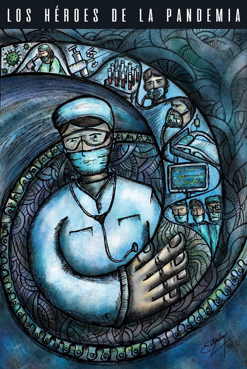 Los héroes de la pandemia