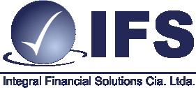 Logotipo IFS, Integral Financial Solutions, auditoría externa, auditoría interna, NIIF, instrumentos financieros, impuestos, contabilidad consultoría empresarial, tratamientos tributarios, activos y pasivos, norma internacional para el reconocimiento de ingresos, implementación de NIIF