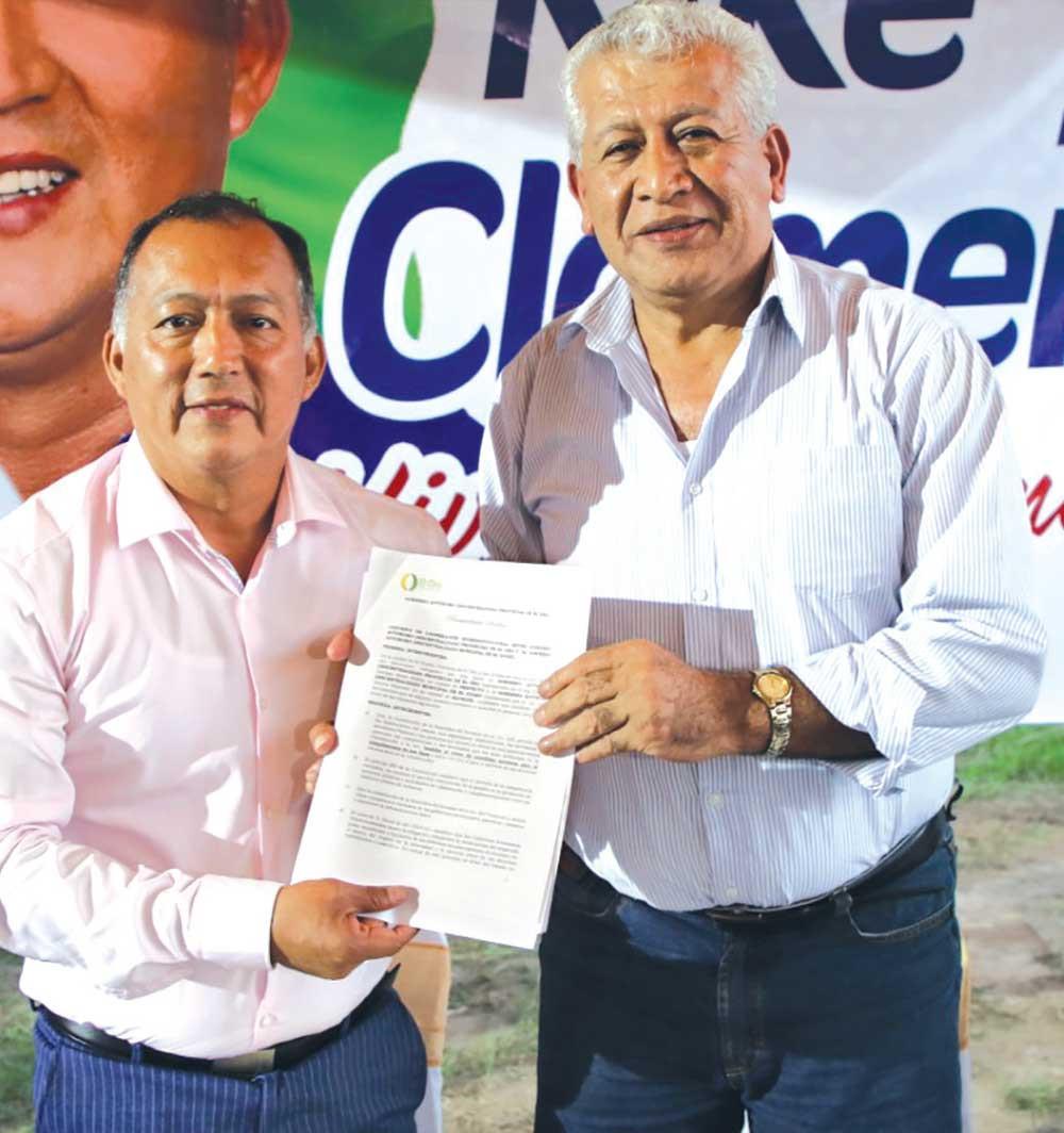 Cerca de 10.000 habitantes del cantón El Guabo se beneficiarán con la obra de dotación de agua para consumo humano, que ejecutarán la Prefectura de El Oro y el municipio de esa localidad. Las autoridades de esas instituciones firmaron un convenio.