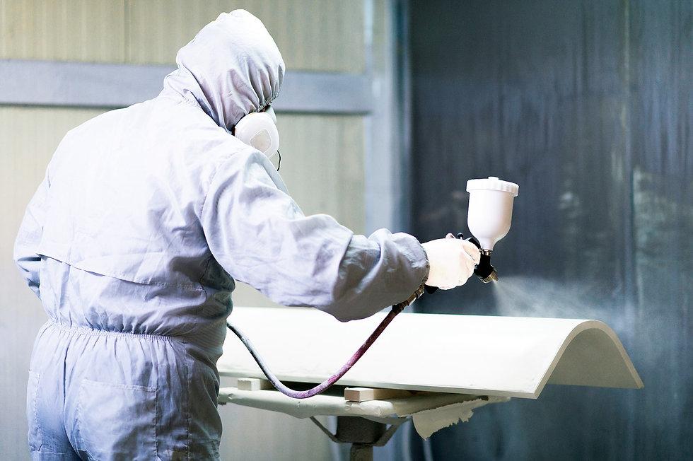 J&F Decoatings | Spraying and Painting | External | Internal