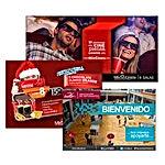 321Make | Diseño gráfico publicitario | Mis cines - UDLA | Valla publicitaria, banner, hoja volante, postal, afiche, tarjetas, panfleto, anuncio, cartel, folleto