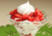 Frutillas con crema