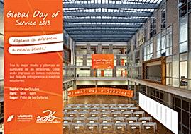 321Make | Diseño gráfico publicitario | UDLA Global Day | Valla publicitaria, banner, hoja volante, postal, afiche, tarjetas, panfleto, anuncio, cartel, folleto
