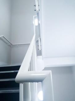Filling handrails