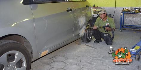 Taller de enderezado y pintura al horano Quito, Valle de los Chillos