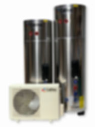 Calitec Heat Pump Hot Water Systems and cylinders - Reducing water heating costs - Refrigerant Split System (RSS)