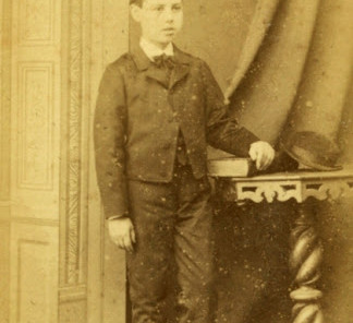 MTG estudante do Seminário de Coimbra, c.1872