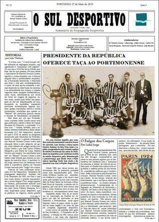 Sul Desportivo, jornal ficcionado
