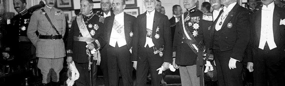 MTG preside a uma sessão solene na Socoedade de Geografia, em 3.11.1923