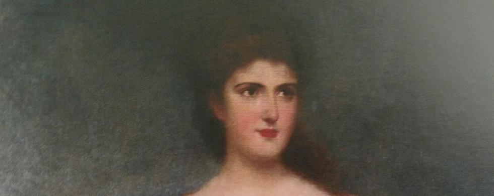 Retrato da filha mais velha do Visconde de Menezes Elisa Wilfrida