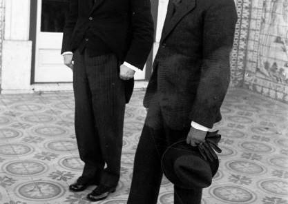 MTG com o presidente cessante, António José de Almeida, em 3.10.1923.
