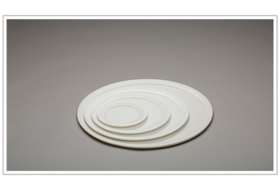 Thassos Marble Dinner Plates