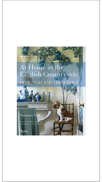 'At Home … ; Designers and their Dogs' by Susanna Salk