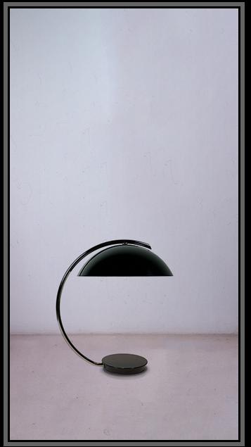 Hubcap Lamp