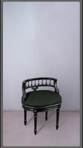Green Velvet Picolo Chair - £1,525