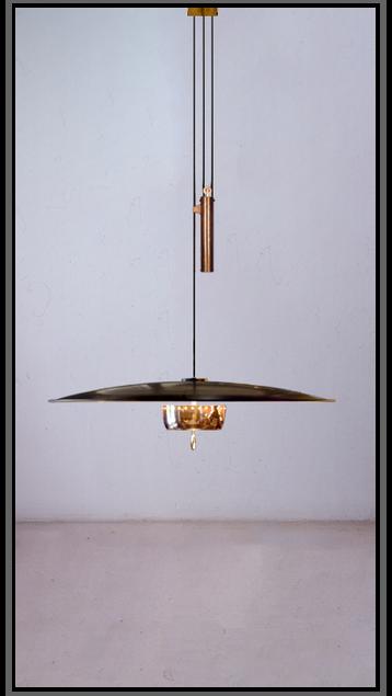 Florian Rise & Fall Pendant Lamp - Large